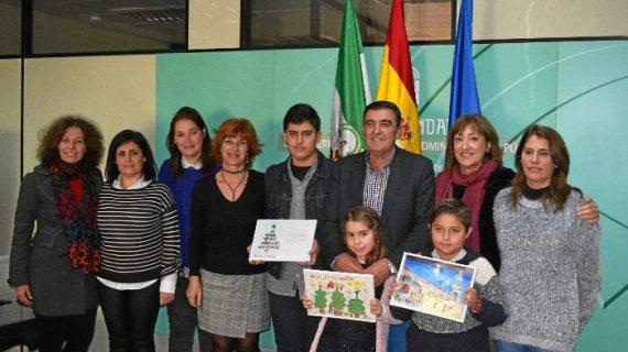 Entregados los premios del Certamen Provincial de Ilustraciones Navideñas
