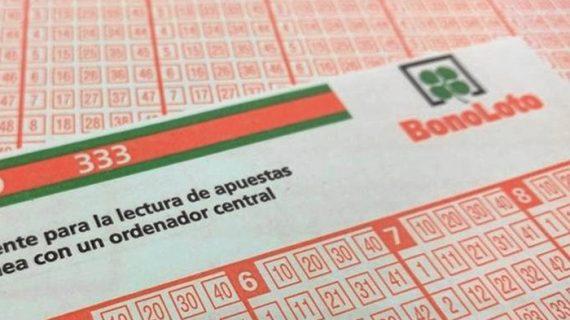 Un acertante de la Bonoloto consigue casi 57.000 euros en Huelva
