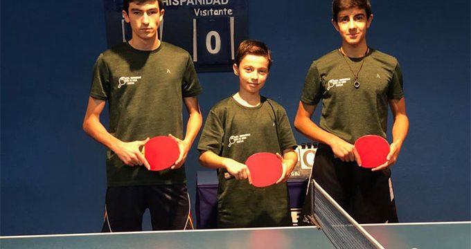 Buenos resultados del CD Asem Hispanidad en las diversas competiciones de tenis de mesa
