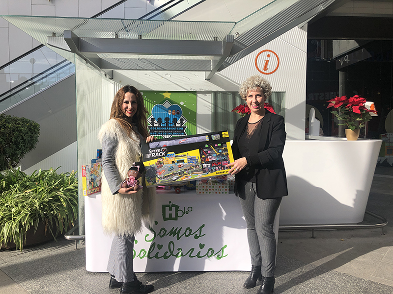 Holea se suma a la campaña de recogida de juguetes 'Huelva es solidaria'