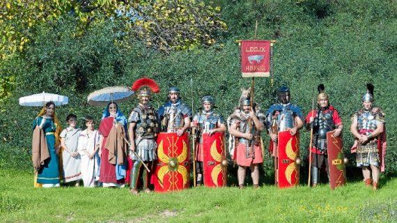 El Belén Viviente de Mazagón vuelve a cobrar vida con la presencia de la Legión Hispana