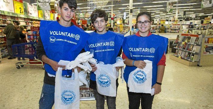 El Banco de Alimentos recauda más de 135.000 kilos de alimentos en la Gran Recogida 2018