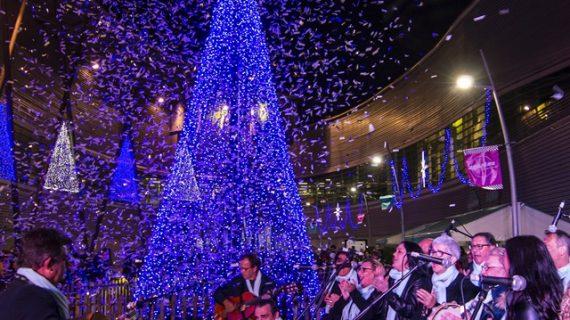 El Centro Comercial Aqualon da la bienvenida a la Navidad