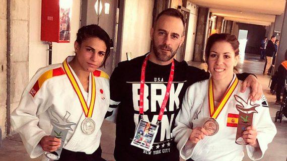 Cinta García y Almudena Gómez dan una plata y un bronce al Huelva TSV en el Campeonato de España de Judo