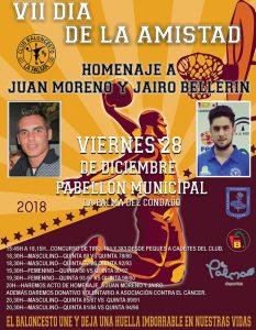 Cartel anunciador de la jornada de baloncesto que se vivirá en La Palma del Condado.