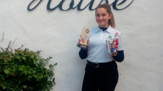 Laura López gana por segundo año consecutivo el Torneo Internacional Junior de Vilamoura de golf