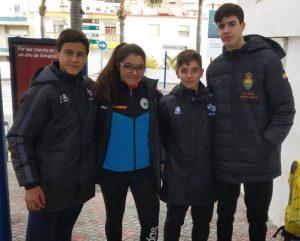 Representantes del PAN Moguer en el Campeonato de España de Selecciones Territoriales de balonmano. / Foto: @CBMPAN.