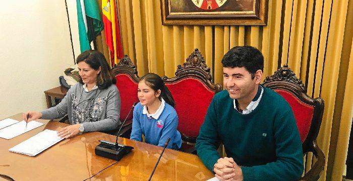 Los escolares valverdeños protagonizan los actos por el Día de la Constitución en su 40 cumpleaños