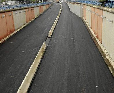 El puente del Odiel permanecerá totalmente abierto desde este miércoles 19 hasta el 9 de enero tras finalizar la primera fase