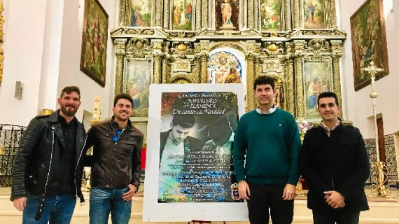 Álvaro Díaz y Damián Solís protagonizan el concierto más flamenco de la Navidad valverdeña