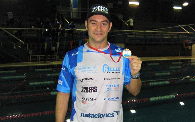 Nuevo éxito para el nadador Rubén Gutiérrez.