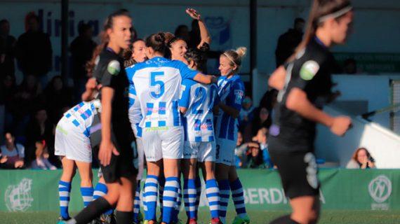 El Sporting Puerto de Huelva continúa su progresión y consigue su tercera victoria consecutiva (2-0)