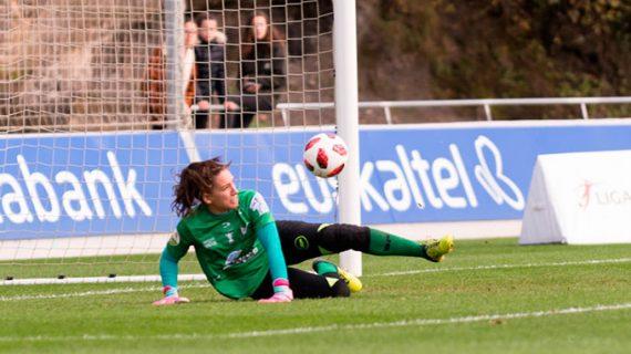 La portera del Sporting Sara Serrat, de nuevo convocada por la selección española