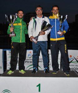El Club Piragüismo Tartessos conquistó una sensacional segunda plaza en el Campeonato de Andalucía de Larga Distancia.