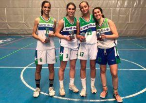 Componentes del conjunto campeón en feminas. / Foto: Fab Huelva.