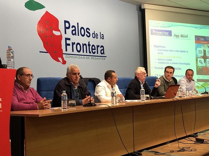 La Comunidad de Regantes Palos de la Frontera lanza una aplicación móvil