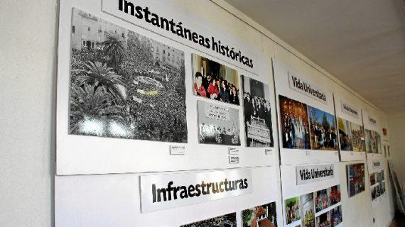 La Palma muestra con fotografías los 25 años de la Universidad de Huelva