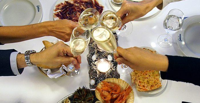 Los productos de Huelva, estrellas de la cena de Nochebuena