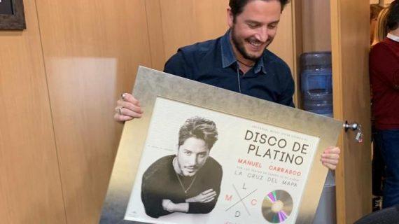 'La Cruz del Mapa', disco de platino en una semana