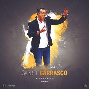 Anuncio del club onbense del fichaje de Gaby Carrasco como nuevo entrenador del equipo de la Liga EBA.