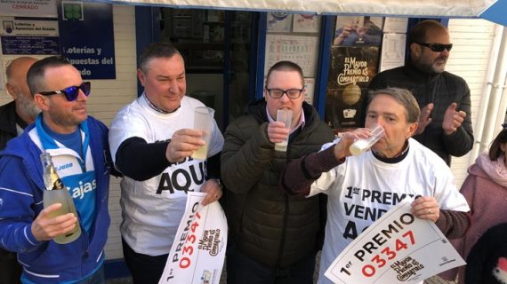 Huelva agraciada con el gordo de la lotería