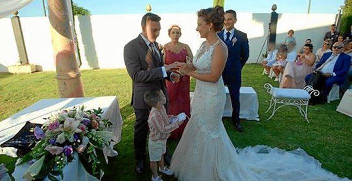 Miriam, una onubense en el programa de televisión 'Cuatro Weddings'