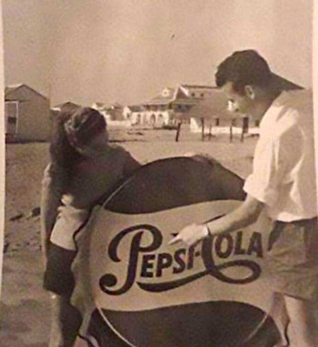 Zona de la 'Vieja Guardia' de Punta Umbría en los años cincuenta del siglo XX