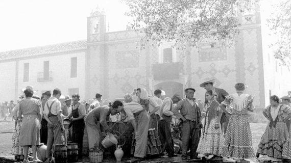 Ermita del Rocío, años 30 del siglo XX