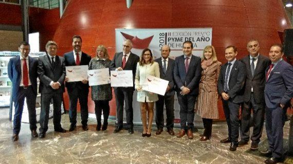 Inprohuelva recibe el Premio Pyme del Año