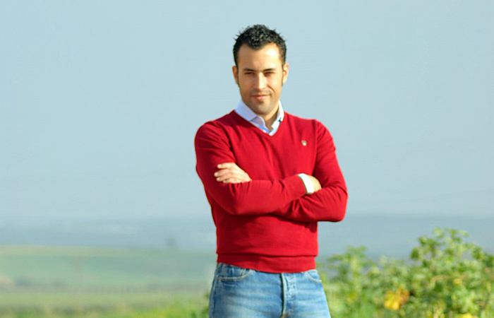 Rubén Palanco, un beasino que ha hecho de su pasión por la agricultura una apuesta emprendedora de éxito