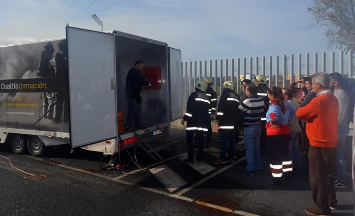 El Consorcio de Transporte Sanitario de Huelva continúa su formación