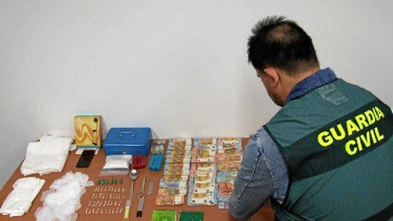 Una detenida en relación a la operación contra el narcotráfico llevada a cabo en Santa Olalla del Cala