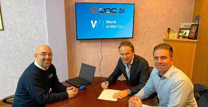 Work Order App y JNC firman un acuerdo de colaboración conjunta