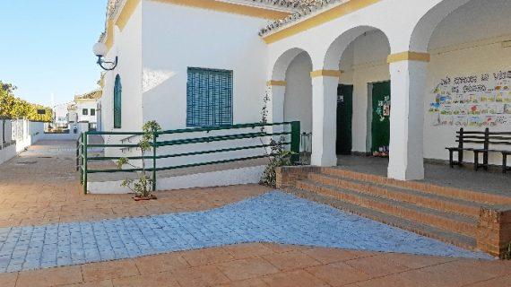 El CEIP Marismas de Hinojos mejora sus instalaciones con la entrada del nuevo año