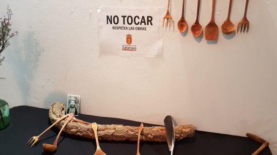 La Casa Cilla acoge una muestra de utensilios de madera realizados por Francisco Romero García