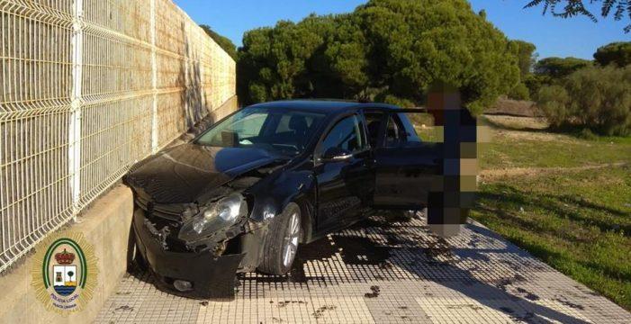 La Policía Local de Punta investiga a un conductor por triplicar la tasa de alcohol permitida