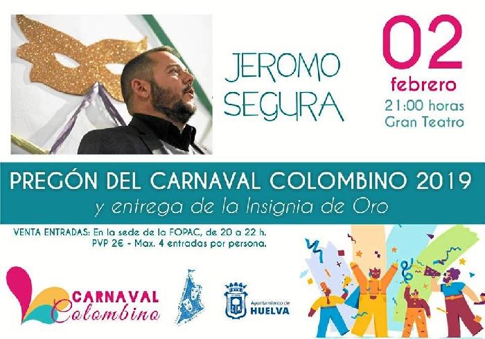 El Carnaval Colombino inicia su Concurso de Agrupaciones el 15 de febrero con la participación de 48 grupos