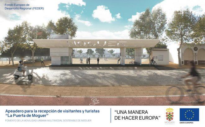 Moguer contará en septiembre con una nueva estación de autobuses en el Recinto Ferial