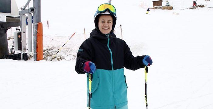 La sanjuanera Marina Rodríguez revalida el título de Campeona de España Absoluta de Esquí Alpino