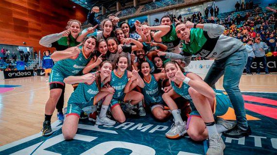 La selección de Andalucía de baloncesto se corona en Huelva como campeona de España en la categoría Cadete Femenina