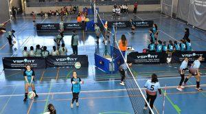 Buena actuación de los equipos ayamontinos en la concentración de La Provincia en Juego. / Foto: J. L. Rúa.