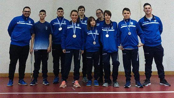 Seis medallas para el CD Bádminton Huelva en la segunda jornada del Circuito Provincial 2018-19