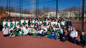 Componentes del CN Mairena, vencedor por equipos en Huelva. / Foto: @CNMAIRENA.
