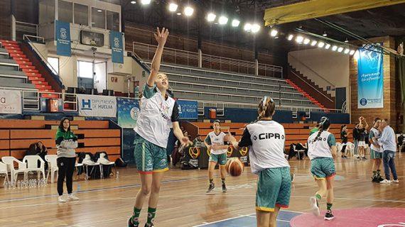 Camino Pellico, única jugadora onubense en el Campeonato de España Infantil y Cadete de Selecciones Autonómicas de baloncesto