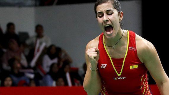 Carolina Marín se cita con la china Chen Yufei en la semifinal del Masters de Indonesia de bádminton