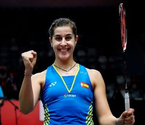 Carolina Marín jugará la final del Masters de Indonesia tras ganar en la semifinal a la china Chen Yufei. / Foto: Badminton Photo.