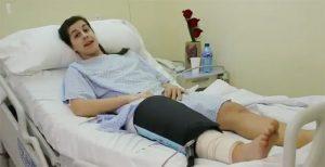Carolina Marín, tras su operación en Madrid, agradeció las muestras de cariño recibidas.