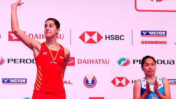 Carolina Marín no empaña su buena actuación en el Masters de Malasia pese a perder la final