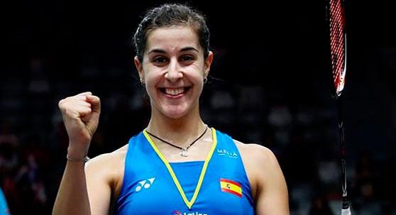 Carolina Marín tira de épica para ganar a la china Chen Yufei y acceder a la final del Masters de Indonesia
