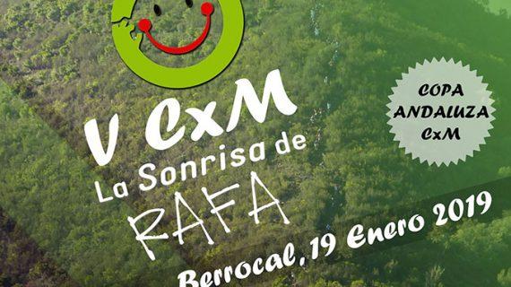 Berrocal ultima los detalles para la celebración del V Trail 'La Sonrisa de Rafa'
